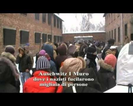 Ad Auschwitz con le scuole di Diamante