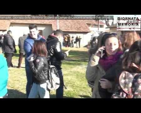 Le scuole di Diamante in visita al campo di concentramento di Ferramonti