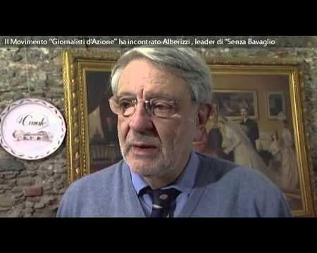 """Interviste- Incontro """"Giornalisti d'Azione"""" e leader di """"Senza Bavaglio""""."""