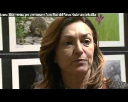 Mostra Parco della Sila, intervista alla Prof.ssa Sonia Ferrari