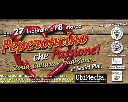 Diretta streamig PEPERONCINO CHE PASSIONE a Pomezia (RM)