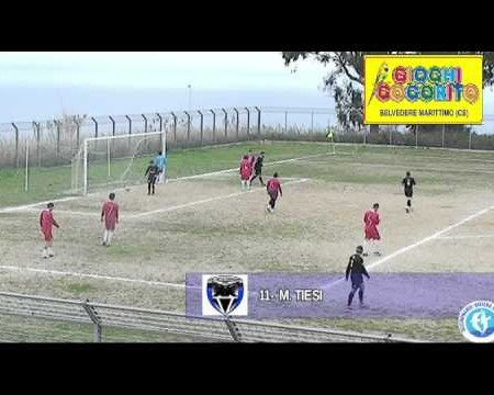 Calcio 3cat.- Virtus Diamante- Real Verbicaro- 5-0 Sintesi