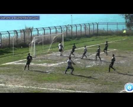 Calcio 3^cat: Virtus Diamante- S. Maria del Cedro 1-1 sintesi