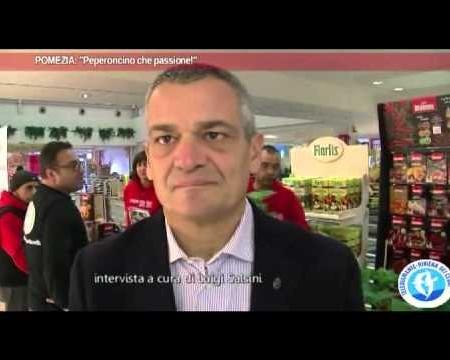 Pomezia, peperoncino protagonista-intervista ad A.Bartalotta, Pres. Delegazione romana dell'Accademia del Peperoncino