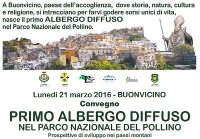 Buonvicino: Nasce il primo Albergo Diffuso nel Parco Nazionale del Pollino