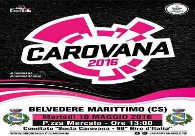 Belvedere: Iniziative in occasione del passaggio della 4^ tappa del Giro d'Italia