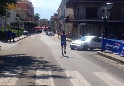 Scalea: Mini Maratona della Legalità, vincono Daniele Diodato e Marta Senise