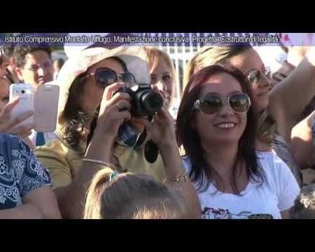 """Istituto Comprensivo Taverna di Montalto, Manifestazione """"Costruttori di legalità""""-interviste/immagini"""