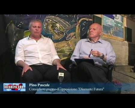 """Incontro con… Pino Pascale Consigliere gruppo """"Diamante Futura"""""""