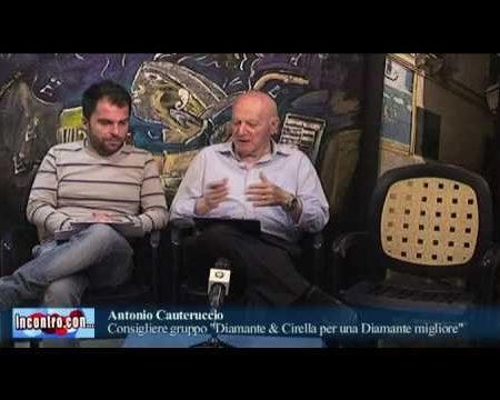 """Incontro con…Antonio Cauteruccio -""""Per una Diamante Migliore"""""""