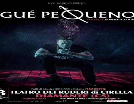 GUE PEQUENO 13 agosto ore 21.30 Diamante, Teatro dei Ruderi di Cirella