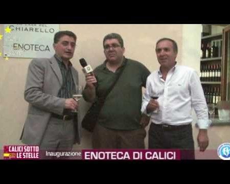 Cirella (Cs): Inaugurazione Enoteca di Calici sotto le Stelle- interviste