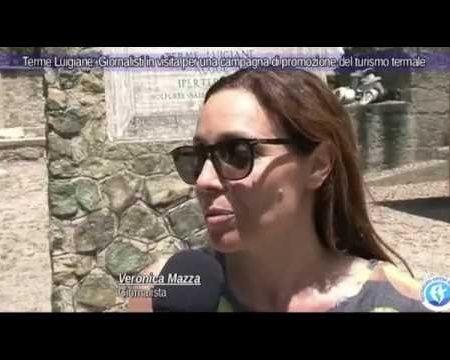 Terme Luigiane: Giornalisti in visita per promuovere il turismo termale- servizio