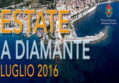 Diamante: Parte il programma di luglio degli eventi estivi a cura dell'assessorato al turismo