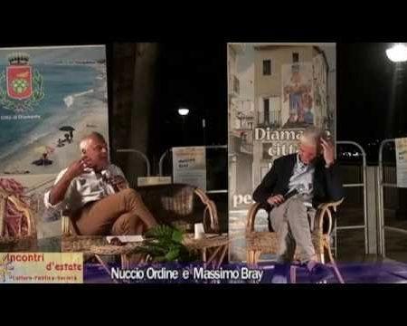 Diamante: Incontri d'estate con Nuccio Ordine e Massimo Bray