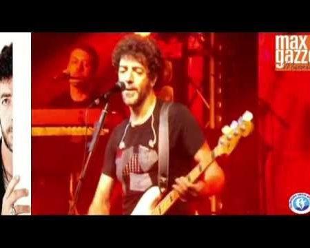 Max Gazzè in concerto al Teatro dei Ruderi di Cirella 16/8/16- intervista e immagini