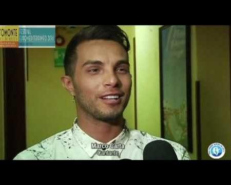 Altomonte: Concerto di Marco Carta- Interviste -immagini
