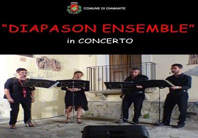 """Diamante: Appuntamento con il concerto dei """"Diapason Ensemble"""""""