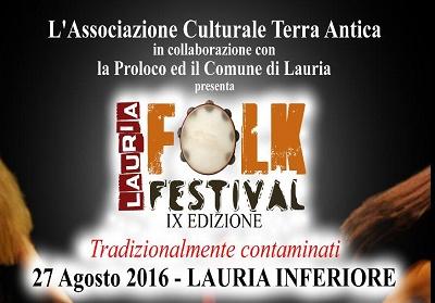 Lauria: Tutto pronto per il  Lauria Folk Festival