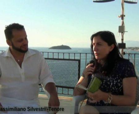 Incontri sotto l'ombrellone con il Tenore Massimiliano Silvestri