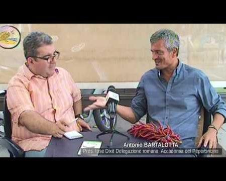 Incontri sotto l'ombrellone…con Antonio Bartalotta, Pres. Delegazione romana dell'Accademia del Peperoncino