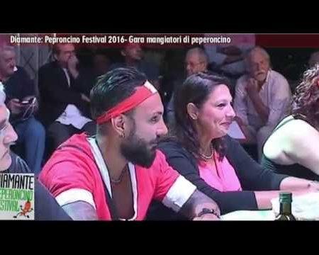 Diamante: Peperoncino Festival 2016- Gara mangiatori di peperoncino
