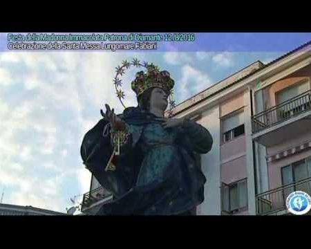 Diamante: Festa della Vergine Immacolata -Celebrazione Santa Messa 12/8/16