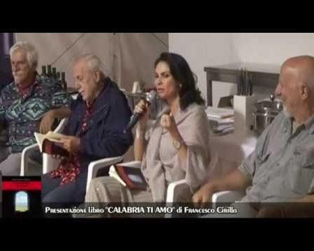 """Diamante: Presentazione libro """"CALABRIA TI AMO""""di Francesco Cirillo"""