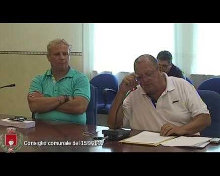 Diamante: Consiglio Comunale del 15/09/16-integrale