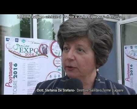 """Le Terme Luigiane celebrate al """"Senior & Junior Expo 2016"""" di Cosenza- interviste"""
