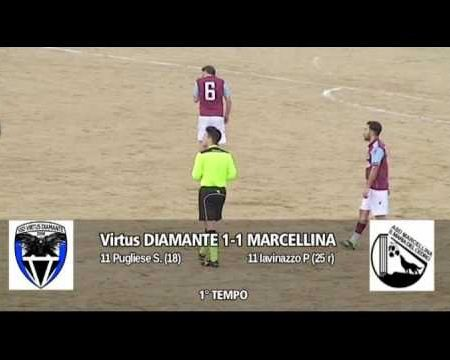 2^ cat.-VIRTUS DIAMANTE-MARCELLINA 2-3 sintesi
