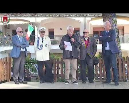 Diamante: Celebrazione Festa delle Forze Armate e dell'Unità Nazionale