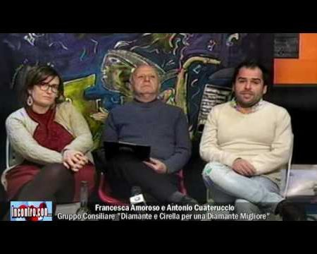"""Incontro con… A.Cauteruccio e F.Amoroso- """"Per una Diamante Migliore"""""""