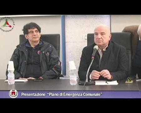 Diamante:Presentazione Piano di Emergenza comunale
