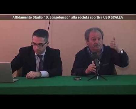 "Scalea: Affidamento Stadio ""D. Longobucco"" all'USD Scalea – interviste/immagini"