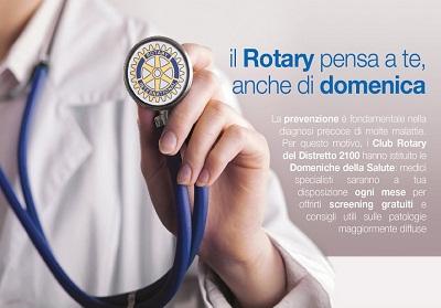 """Al via l'edizione de """"Le Domeniche della Salute"""", promossa dal Rotary Club """"Riviera dei Cedri""""."""
