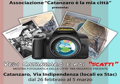 """Al via """"Vedi Catanzaro e poi scatti"""" una mostra fotografica tra passato e presente"""