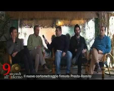 Intervista ai protagonisti di 90 secondi all'Inferno- nuovo cortometraggio del duo Presta-Romito