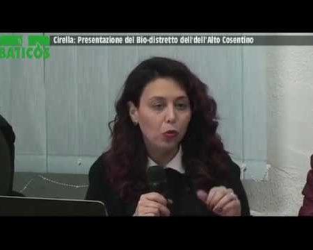 Cirella (Cs): Presentazione Bio-Distretto Alto Tirreno Cosentino (Baticòs)
