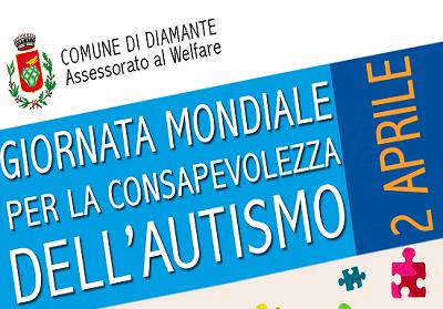 Diamante: Manifestazione per la Giornata mondiale per la consapevolezza sull'autismo