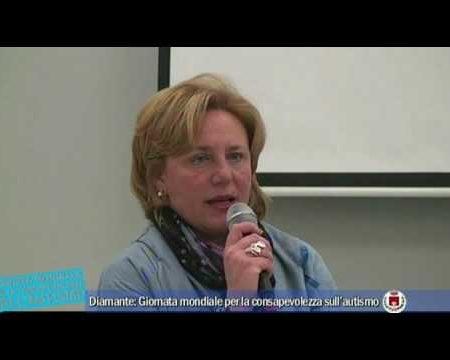 Diamante: Giornata mondiale per la consapevolezza sull'autismo