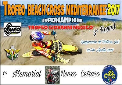 """Tortora: Torna il Campionato Nazionale di """"Beach Cross"""", primo Memorial Renzo Cetraro."""