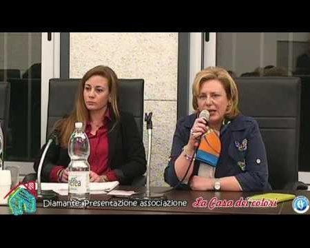 """Diamante Cs: Presentazione Associazione """"La Casa dei colori"""" onlus"""