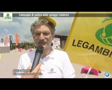 Campagna pulizia delle spiagge Calabresi- servizio