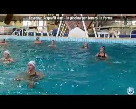"""Cosenza: """"Acquafit Day"""" in piscina per tenersi in forma- servizio"""