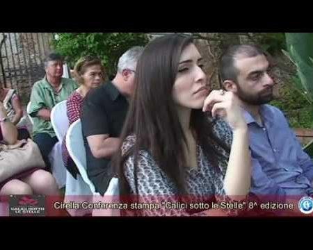 """Cirella: Conferenza stampa di presentazione """"Calici sotto le Stelle """" 8^ edizione"""