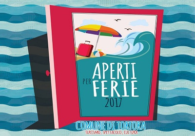 """""""Aperti per Ferie 2017"""", il programma degli eventi estivi del comune di Tortora"""