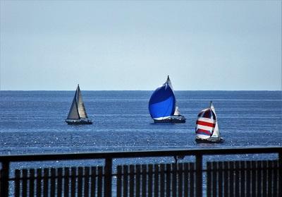 Diamante: Una meravigliosa regata di vela d'altura ha concluso la Festa del mare