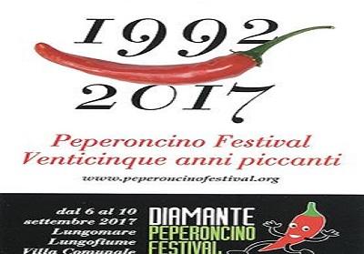 Diamante: L'Accademia del peperoncino ha reso noti i premi promossi per il 25° Peperoncino Festival