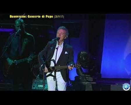 Buonvicino (Cs): Concerto di Pupo (20/9/17)- (spezzoni)
